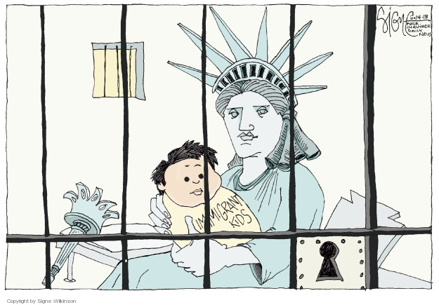 Signe Wilkinson  Signe Wilkinson's Editorial Cartoons 2018-06-14 family separation