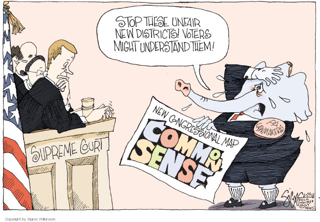 Signe Wilkinson  Signe Wilkinson's Editorial Cartoons 2018-06-24 voting rights