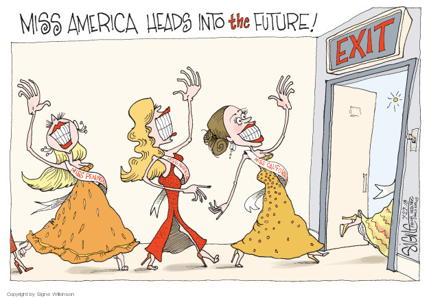 Signe Wilkinson  Signe Wilkinson's Editorial Cartoons 2018-07-27 equality