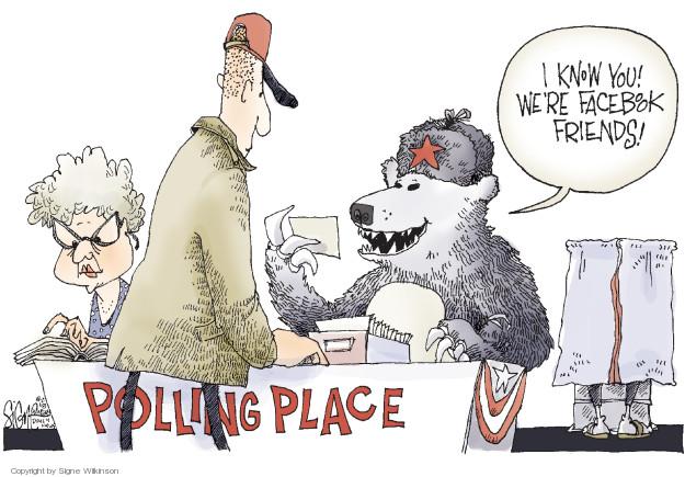 Cartoonist Signe Wilkinson  Signe Wilkinson's Editorial Cartoons 2018-08-02 2016 election