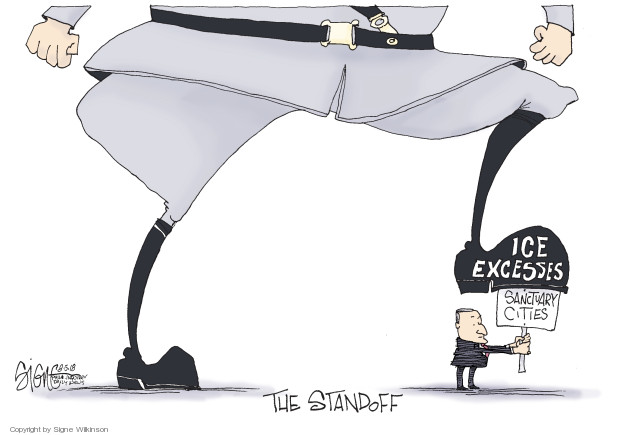 Signe Wilkinson  Signe Wilkinson's Editorial Cartoons 2018-08-05 immigration