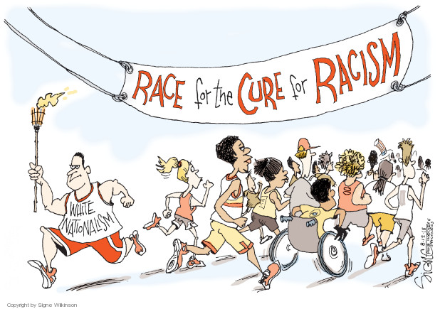 Signe Wilkinson  Signe Wilkinson's Editorial Cartoons 2018-08-12 discrimination