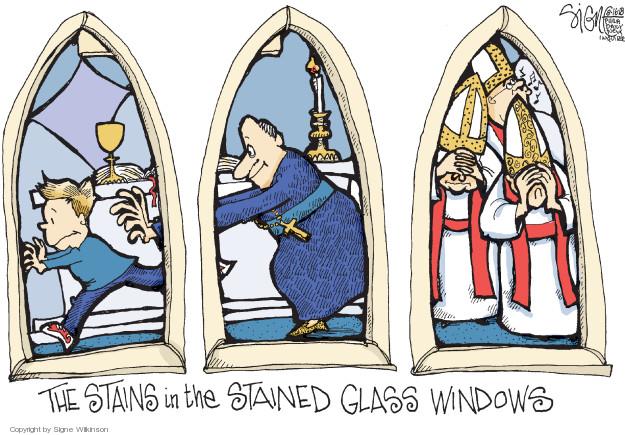 Signe Wilkinson  Signe Wilkinson's Editorial Cartoons 2018-08-16 abuse