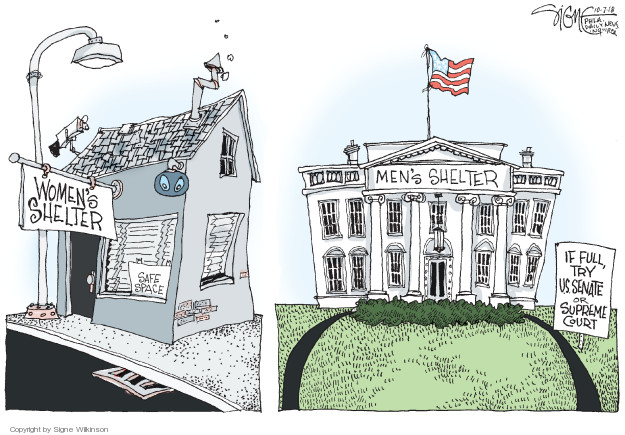 Signe Wilkinson  Signe Wilkinson's Editorial Cartoons 2018-10-07 White House