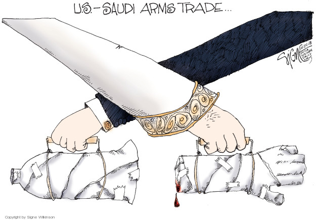 Signe Wilkinson  Signe Wilkinson's Editorial Cartoons 2018-10-24 weaponry