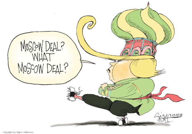 Moscow deal? What Moscow deal?