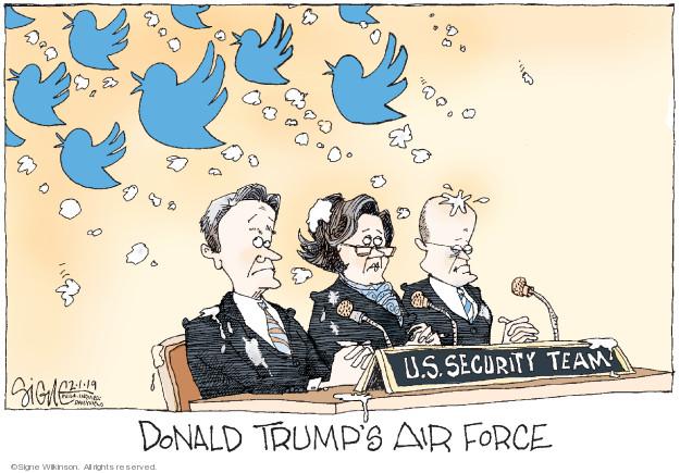Donald Trumps Air Force. U.S. Security Team.
