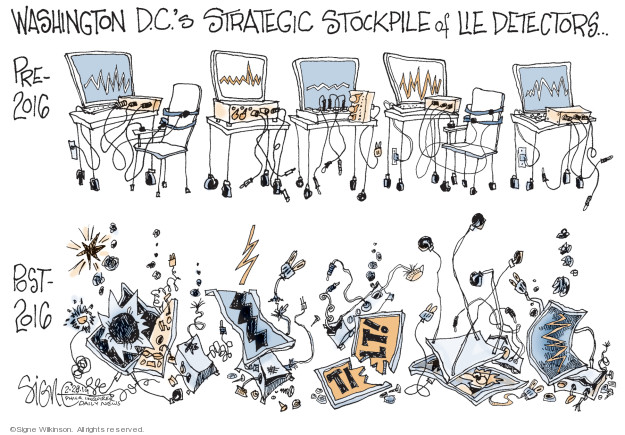 Cartoonist Signe Wilkinson  Signe Wilkinson's Editorial Cartoons 2019-02-28 editorial