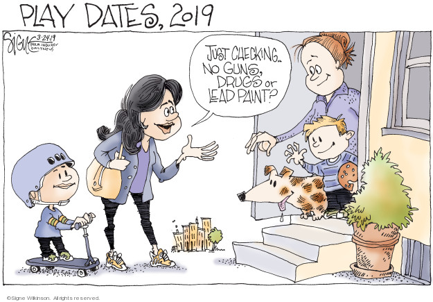 Cartoonist Signe Wilkinson  Signe Wilkinson's Editorial Cartoons 2019-03-24 Philadelphia