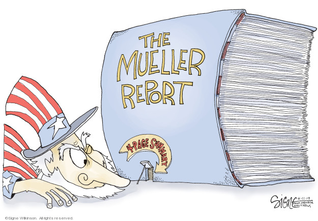 Signe Wilkinson  Signe Wilkinson's Editorial Cartoons 2019-04-11 2016 election