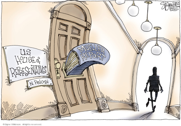 U.S. House of Representatives. N. Pelosi. Mueller report.