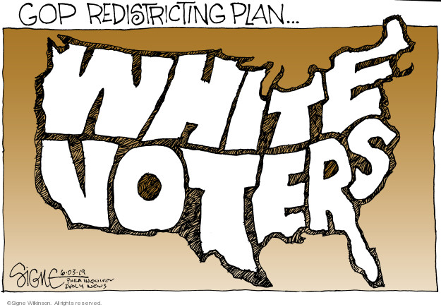 GOP redistricting plan … White voters.