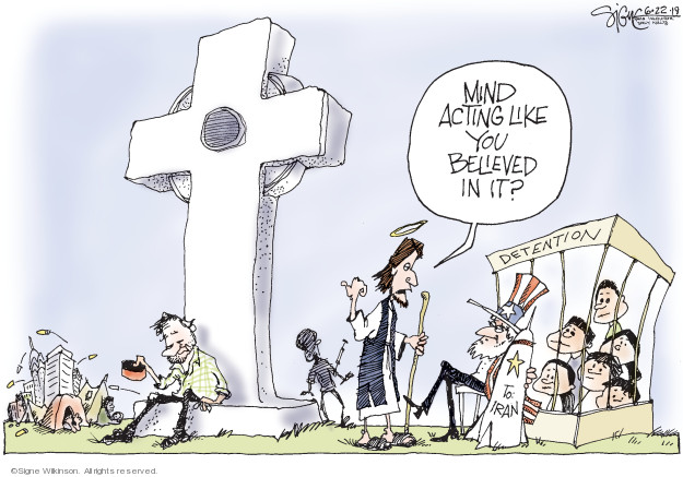 Cartoonist Signe Wilkinson  Signe Wilkinson's Editorial Cartoons 2019-06-22 Supreme Court