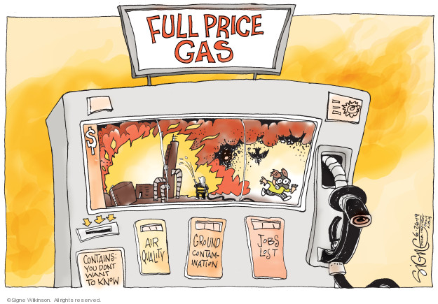 Signe Wilkinson  Signe Wilkinson's Editorial Cartoons 2019-06-26 pollution