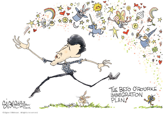 Cartoonist Signe Wilkinson  Signe Wilkinson's Editorial Cartoons 2019-06-28 candidate