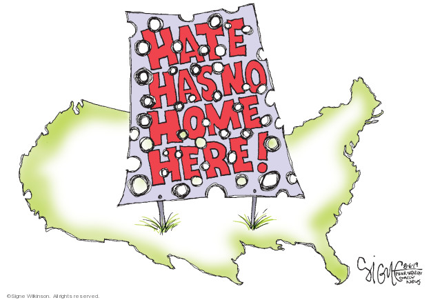 Hate has no home here!