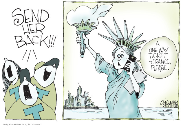 Signe Wilkinson  Signe Wilkinson's Editorial Cartoons 2019-08-15 new