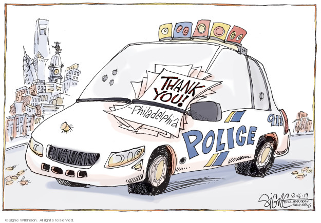 Signe Wilkinson  Signe Wilkinson's Editorial Cartoons 2019-08-16 shooting