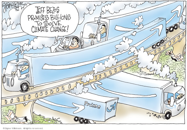 Cartoonist Signe Wilkinson  Signe Wilkinson's Editorial Cartoons 2020-02-19 transportation