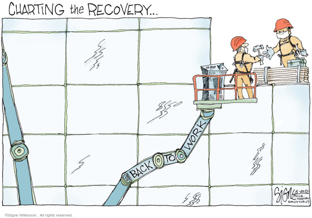Signe Wilkinson  Signe Wilkinson's Editorial Cartoons 2020-05-03 health