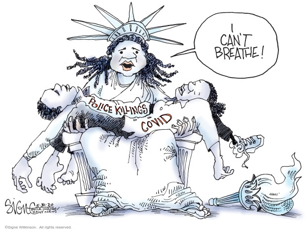 Signe Wilkinson  Signe Wilkinson's Editorial Cartoons 2020-05-31 health