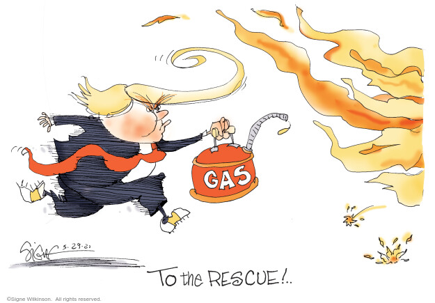 Signe Wilkinson  Signe Wilkinson's Editorial Cartoons 2020-05-29 Trump administration