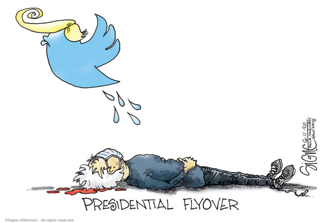 Cartoonist Signe Wilkinson  Signe Wilkinson's Editorial Cartoons 2020-06-11 presidential
