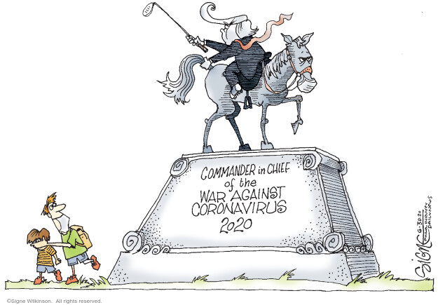 Signe Wilkinson  Signe Wilkinson's Editorial Cartoons 2020-06-30 illness