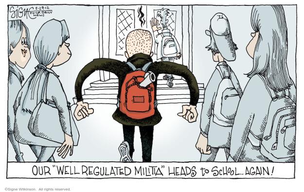 Signe Wilkinson  Signe Wilkinson's Editorial Cartoons 2012-02-29 editorial