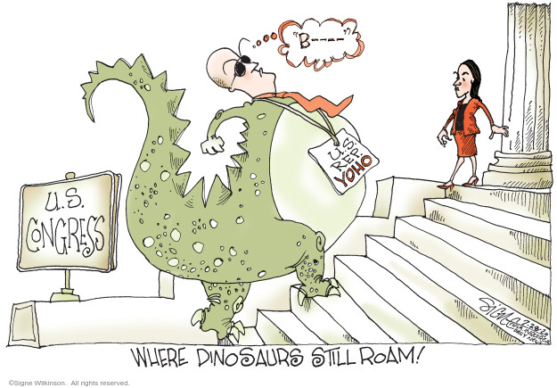 Signe Wilkinson  Signe Wilkinson's Editorial Cartoons 2020-07-28 congressional leadership