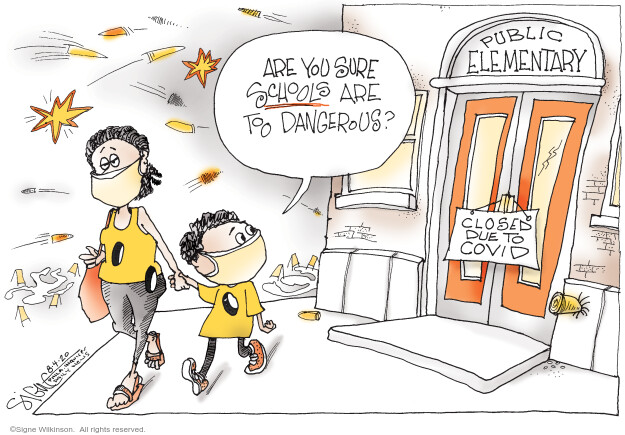 Signe Wilkinson  Signe Wilkinson's Editorial Cartoons 2020-07-31 policy