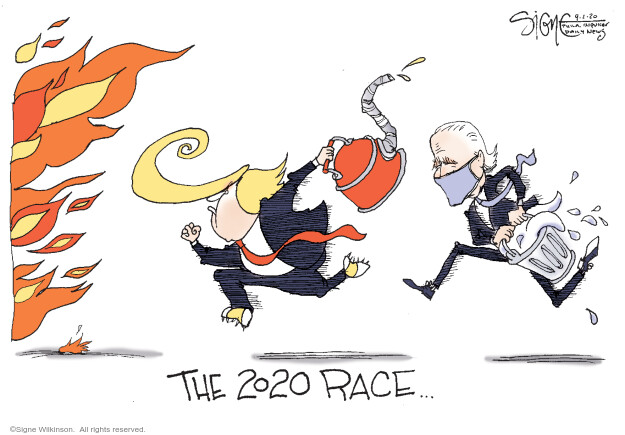 Signe Wilkinson  Signe Wilkinson's Editorial Cartoons 2020-09-01 democrat