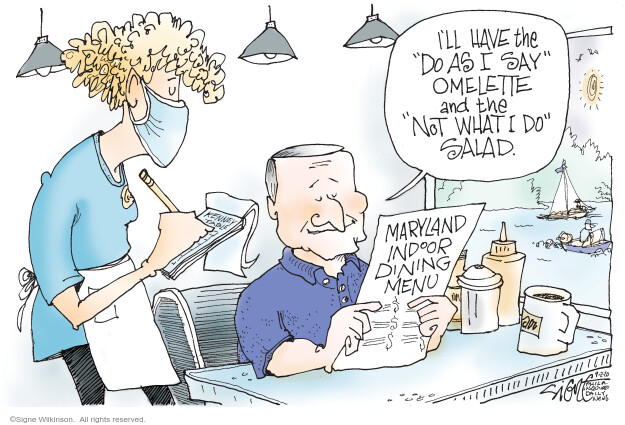 Signe Wilkinson  Signe Wilkinson's Editorial Cartoons 2020-09-02 illness
