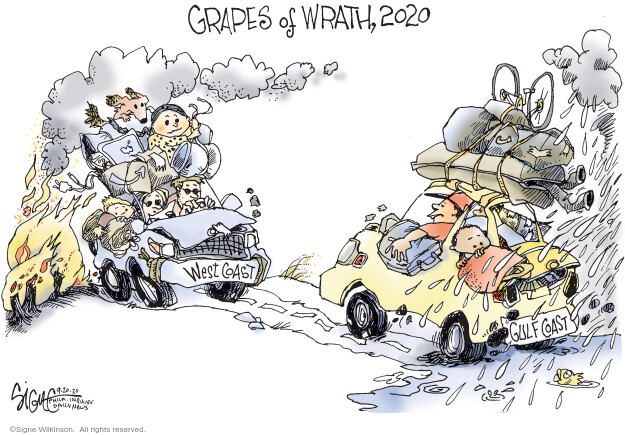 Signe Wilkinson  Signe Wilkinson's Editorial Cartoons 2020-09-20 change