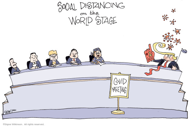 Signe Wilkinson  Signe Wilkinson's Editorial Cartoons 2020-09-18 pandemic