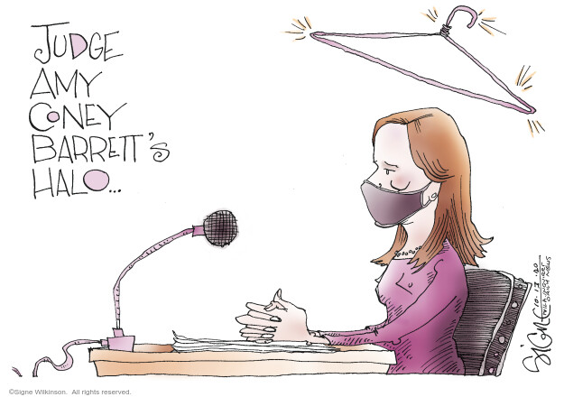Signe Wilkinson  Signe Wilkinson's Editorial Cartoons 2020-10-13 rights
