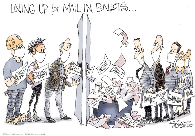 Signe Wilkinson  Signe Wilkinson's Editorial Cartoons 2020-10-14 every