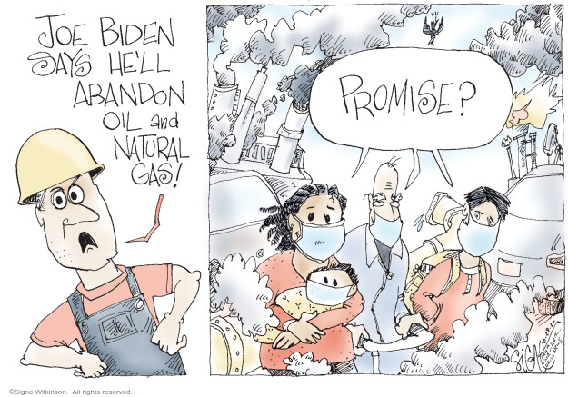 Signe Wilkinson  Signe Wilkinson's Editorial Cartoons 2020-10-29 pollution