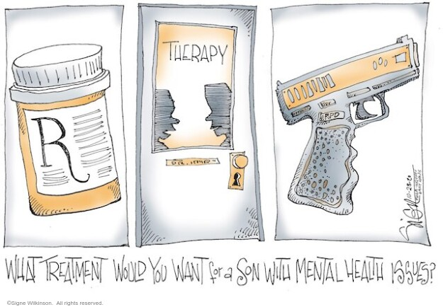 Signe Wilkinson  Signe Wilkinson's Editorial Cartoons 2020-10-28 health care