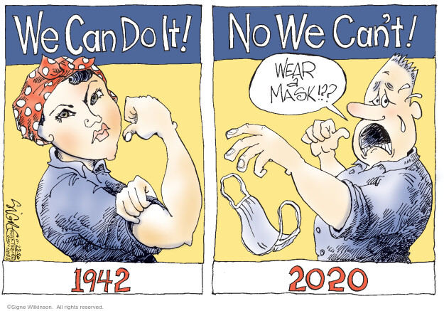 Signe Wilkinson  Signe Wilkinson's Editorial Cartoons 2020-11-21 1940s