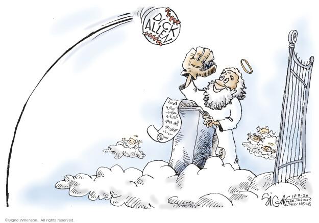 Signe Wilkinson  Signe Wilkinson's Editorial Cartoons 2020-12-09 obituary