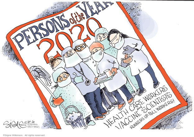 Signe Wilkinson  Signe Wilkinson's Editorial Cartoons 2020-12-20 health care