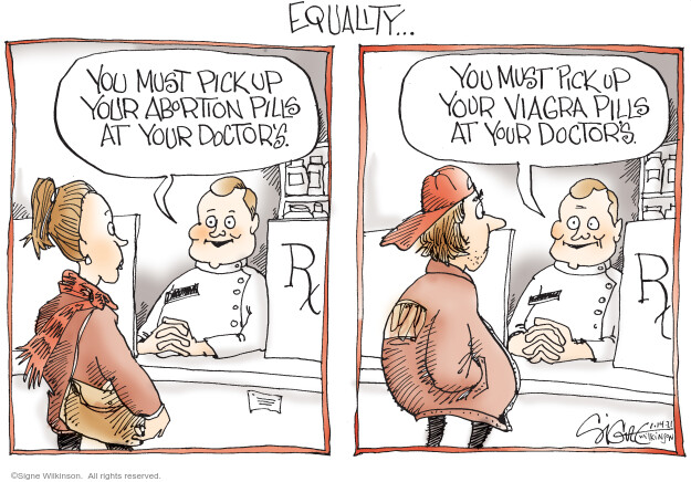 Signe Wilkinson  Signe Wilkinson's Editorial Cartoons 2021-01-14 health care