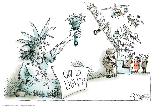 Signe Wilkinson  Signe Wilkinson's Editorial Cartoons 2021-01-20 editorial