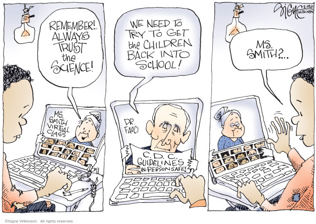 Signe Wilkinson  Signe Wilkinson's Editorial Cartoons 2021-02-10 health