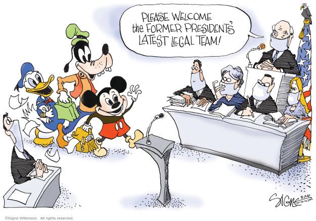 Signe Wilkinson  Signe Wilkinson's Editorial Cartoons 2021-02-11 senate