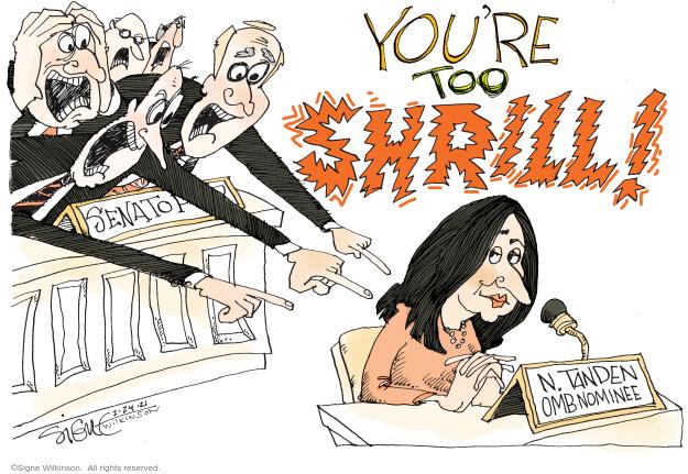 Signe Wilkinson  Signe Wilkinson's Editorial Cartoons 2021-02-24 Congress