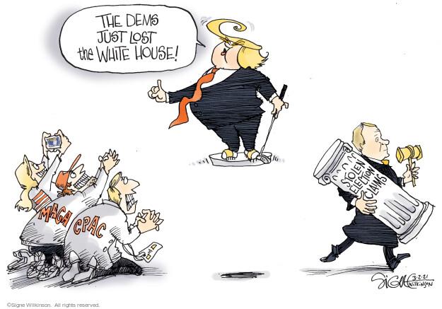 Signe Wilkinson  Signe Wilkinson's Editorial Cartoons 2021-03-02 democrat