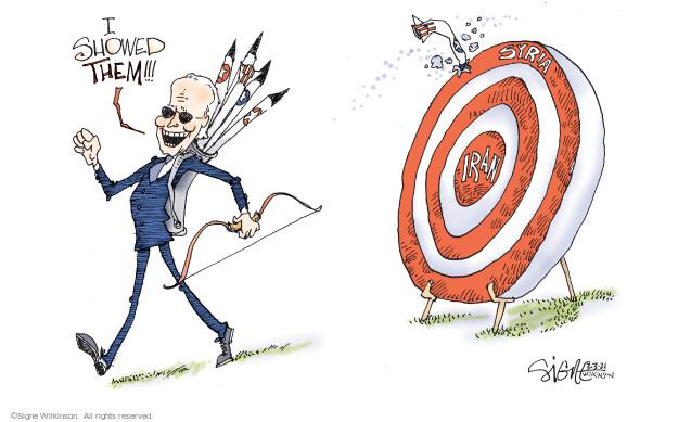 Signe Wilkinson  Signe Wilkinson's Editorial Cartoons 2021-03-03 administration