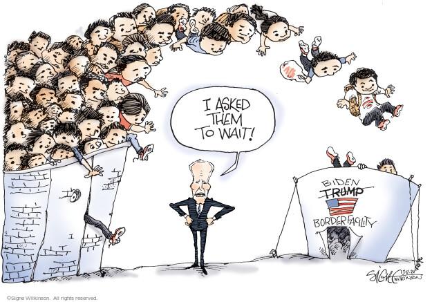 Signe Wilkinson  Signe Wilkinson's Editorial Cartoons 2021-03-11 United States